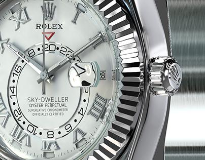 Rolex Sky-Dweller 3d model