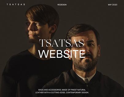 TSATSAS Website Redesign