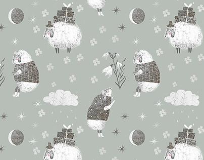 Little Tenderness. Pattern Design