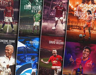 Legends 9 historical era - Football Graphics