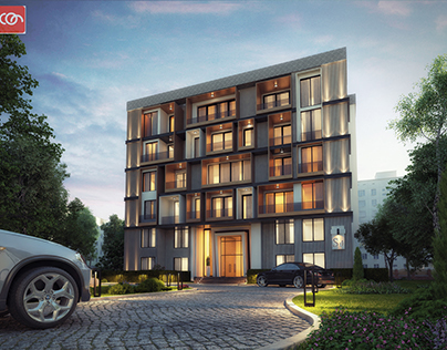 Exterior residential visualization @ con creative