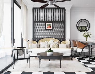Thiết kế nội thất chung cư D'capitale- Chú Tuấn