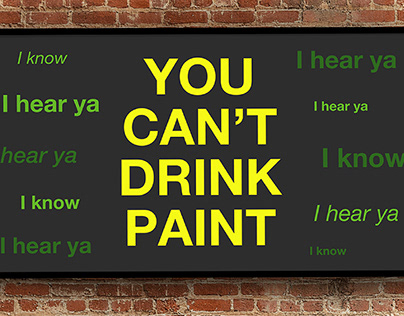 You Can't Drink Paint - Kinetic Typography