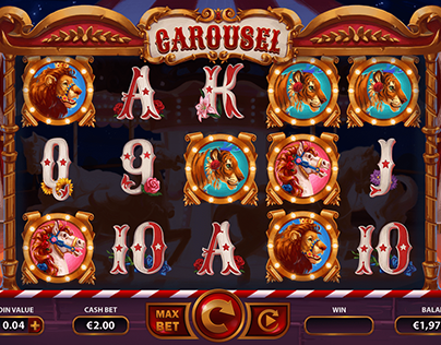 Carousel slot game project