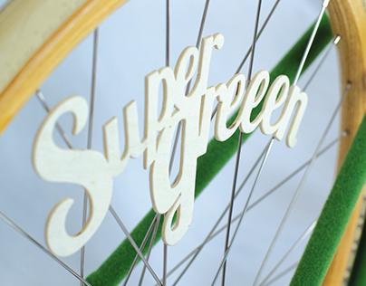 bicycle SUPER GREEEN