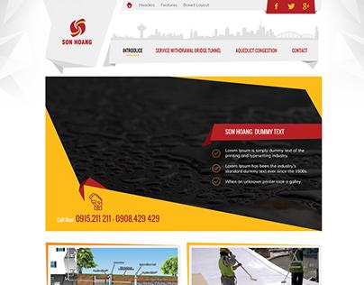 My Web layout Design work