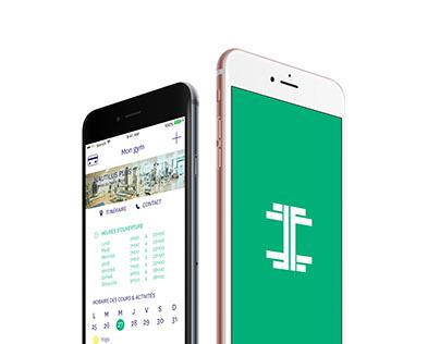 WIP — App design — Friends Fitness