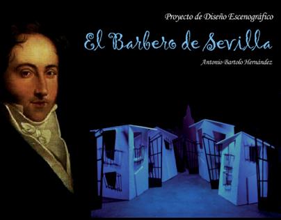 Diseño Vestuario y Escenografía. Opera Il barbiere di S