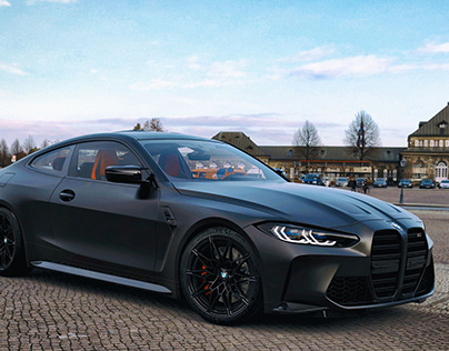 BMW M4 G82 Competition 2021