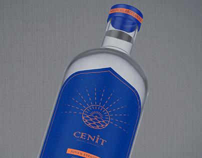 Mezcal CENIT - Etiqueta