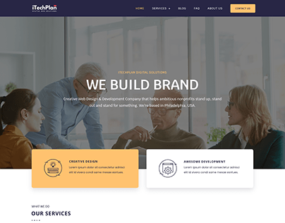 ITechPlan Website Design & Development