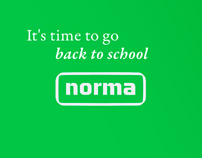 It's time to go back to school - Norma