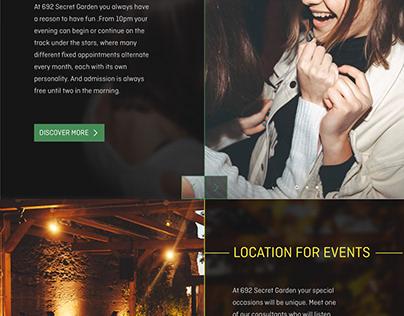 web design restaurant