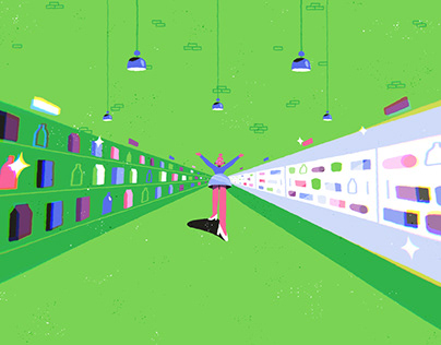 Vmarkt Animated Ad