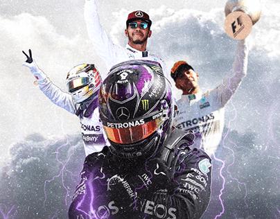 Flyer Lewis Hamilton
