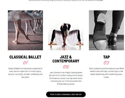 MSoD Dance Site