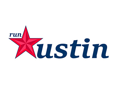 Thirty days logo challenge - Day 7 - Austin Run