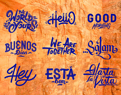 TRAVEL // LETTERING AND TYPOGRAFFITI