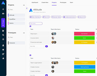 Altitude App Designs
