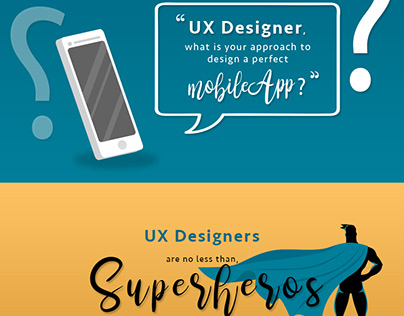 Infographic – UX Designer, What Is Your Approach to Des