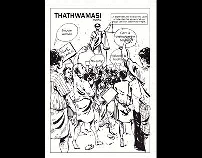 Thathwamasi :A Graphic Narrative