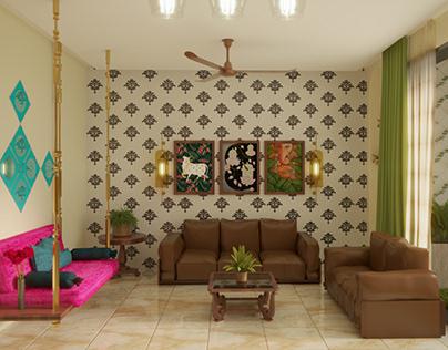 The Traditional Contemporary Interior Design