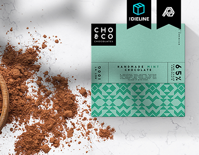 Cho&co Chocolates Packaging Design