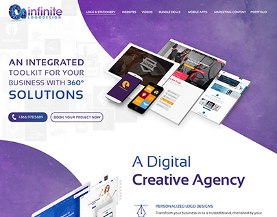 Infinite LogoDesign Design Agency Web Design