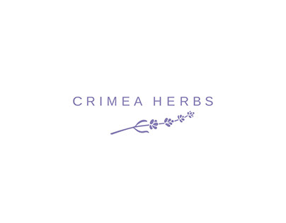 Crimea Herbs logo and branding