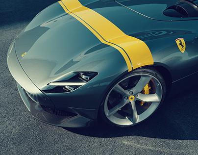Ferrari Monza SP2 – CGI