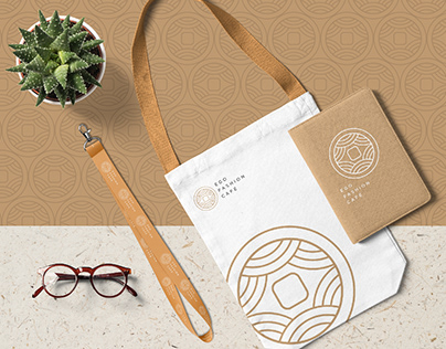 Ego Fashion Café Logo Design