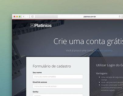 Platinios | WebApp