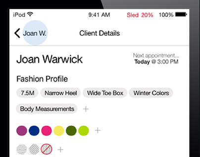 Macy's // iOS Integrated Associate Mobile Concept
