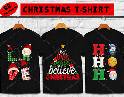 50+CHRISTMAS T-SHIRT DESIGN