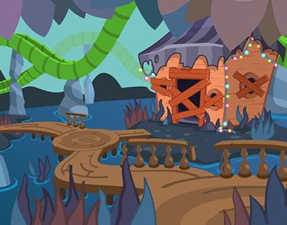 Moshi Monsters Splash Illustrations