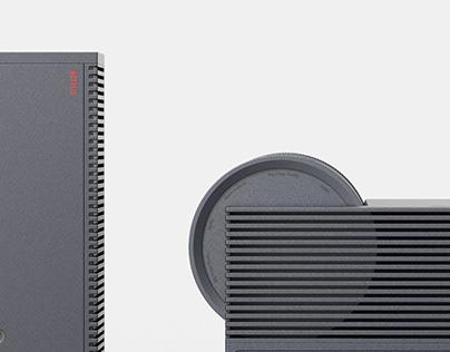 Netflix_Projector & Bluetooth speaker