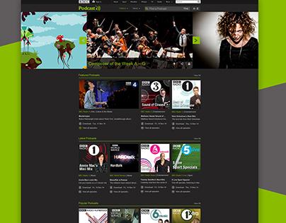 BBC Podcast - redesign - Nov 2014