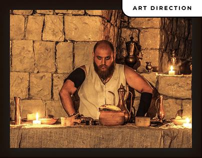 """Art direction -"""" Gladiators of God (vikings)"""""""