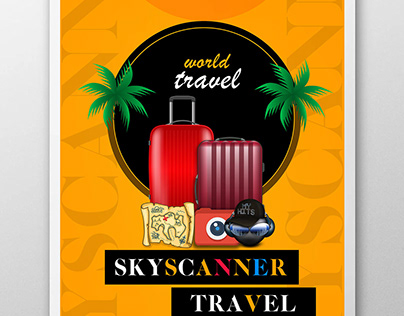 Sky scanner Poster