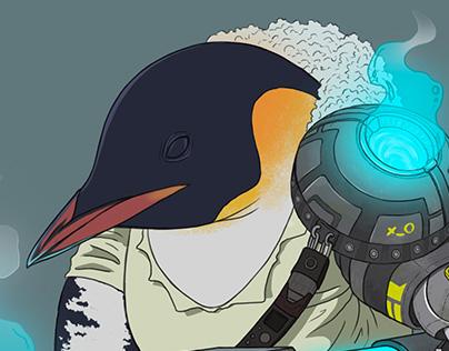 Mercenary P - Penguins Serie