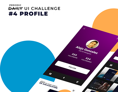 UI Concept - Profile