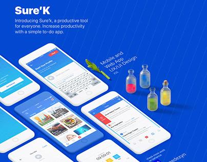 Sureek - Mobile & Web App