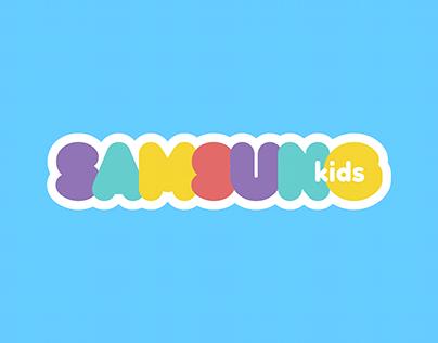 Rediseño SAMSUNG para niños.
