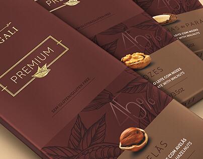 Premium Chocolate Bars NUGALI (by FAZdesign)