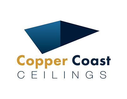 Copper Coast Ceilings - Logo Design