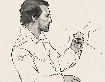 Longbranch Whiskey // Illustration