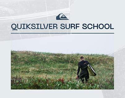 QUIKSILVER SURF SCHOOL - Redesign concept