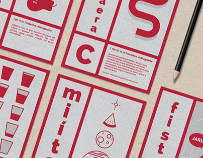 Vocabulario de Málaga - Set de postales