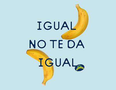 Plátano de Canarias - Igual no te da igual