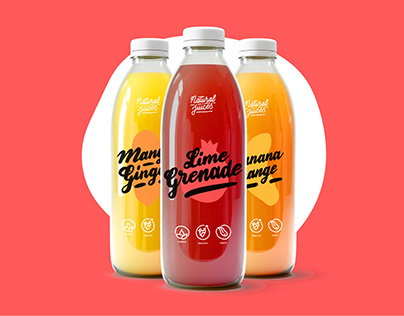 Natural Juices Packaging & Branding